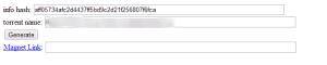 Online Magnet Link Generator Converter Torrent Name