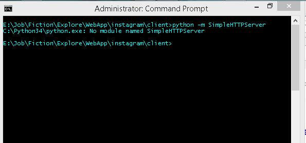 No module named SimpleHTTPServer [Error] – Ngeshlew Geeking